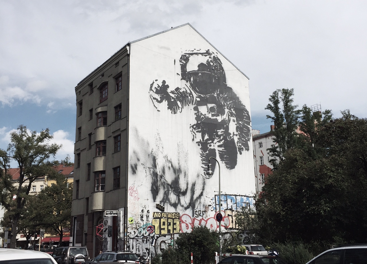 Victor Ash astronaut berlin