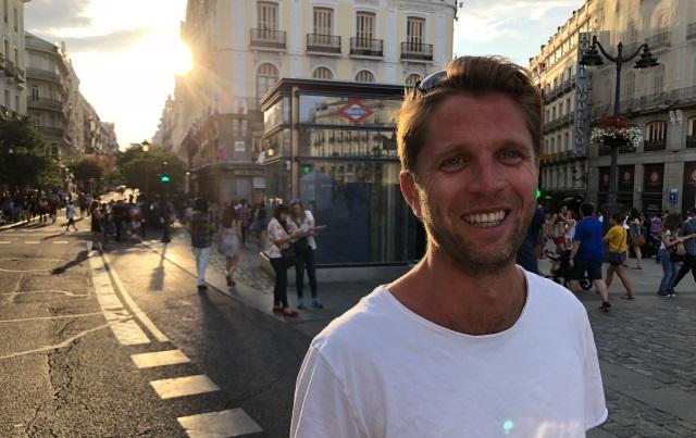 Tag på herretur til Madrid